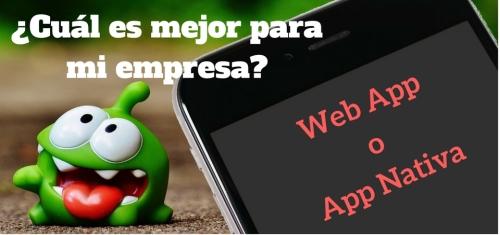 Alt Web App o App Nativa